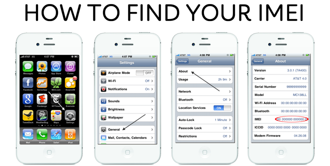 how to find my number on iphone how to locate imei number how to locate imei number 20052