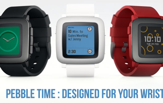 Pebble Time Smartwatch: Designed For Your Wrist