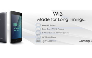 Wiio Launches Wi3 On Snapdeal For INR 7,499