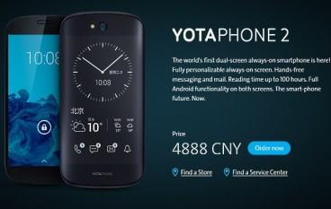 YotaPhone 2 Now Available In China