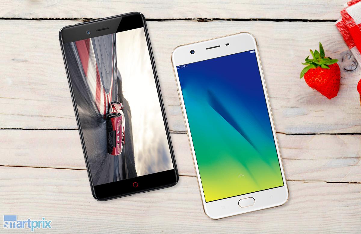 phone comparison oppo f3 vs zte nubia z17 mini smartprix blog. Black Bedroom Furniture Sets. Home Design Ideas